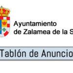 Convocadas ayudas a asociaciones de Zalamea de la Serena por concurrencia competitiva para 2018