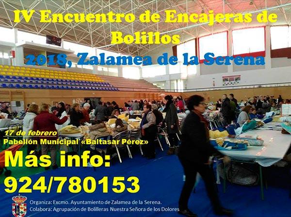 ¡No te pierdas el IV encuentro de Encajeras de Bolillo en Zalamea de la Serena!