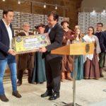 """Recepción del Presidente de la Junta de Extremadura, Guillermo Fernández Vara Teatro """"El Alcalde de Zalamea"""""""