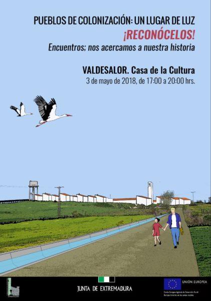 Jornadas Pueblos de colonización: Un Lugar de luz. @ Escuela de Docenario | Docenario | Extremadura | España