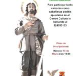 """""""Romería de San Isidro 2018"""" abierto el plazo de inscripción para participar en el tradicional camino a Docenario"""