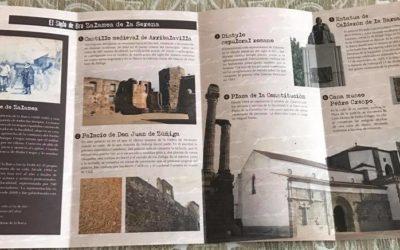 """Nuevos folletos correspondientes a la Ruta """"El Siglo de Oro"""" de Zalamea en relación a Calderón y Nebrija"""