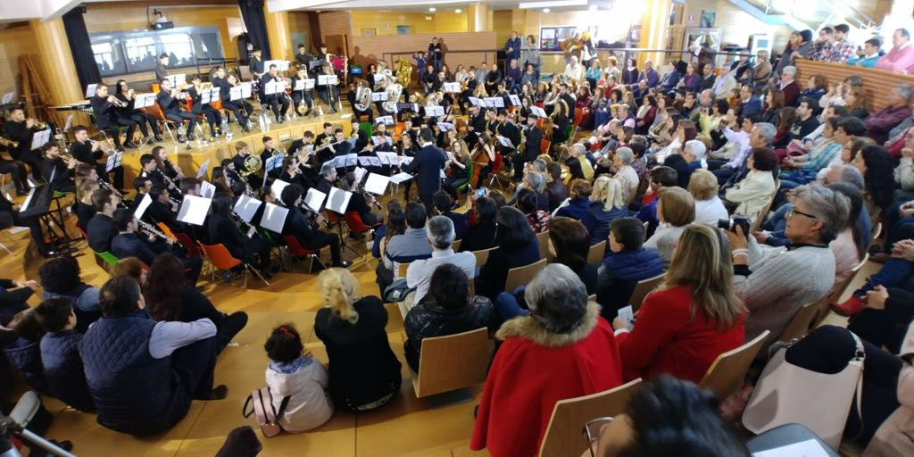 Concierto de la Banda Federal de Música de Extremadura en Zalamea