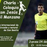 Charla Coloquio con Jesus Gil Manzano en Zalamea
