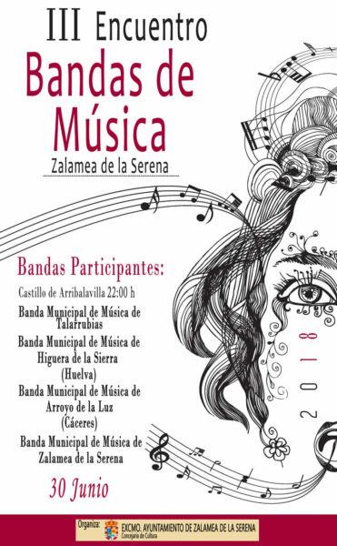 III Encuentro de Bandas de Música @ Castillo de Arribalavilla | Zalamea de la Serena | Extremadura | España