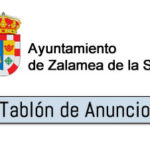 ANUNCIO Convocatoria de selección para el acceso de dos plazas de carácter temporal con cargo al plan de empleo local del Ayuntamiento de Zalamea de la Serena.