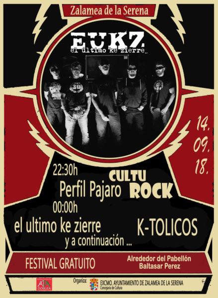 Cultu Rock Zalamea de la Serena @ Alrededor del Pabellón Baltasar Perez | Zalamea de la Serena | Extremadura | España