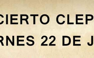 CONCIERTO CLEPSIDRA !!!