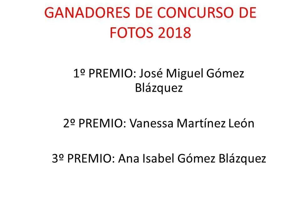 """Ganadores del Concurso de Fotografias """"Teatro 2018"""""""