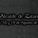 "Programacion de actos del ""Teatro Alcalde de Zalamea"" 2018"