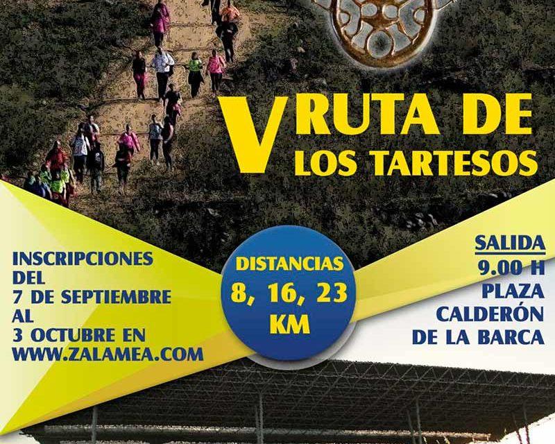 "Inscripciones V RUTA DE LOS TARTESOS ""PATRIMONIO DE ZALAMEA"". Hasta el 3 de octubre ¡¡ a que esperas¡¡"