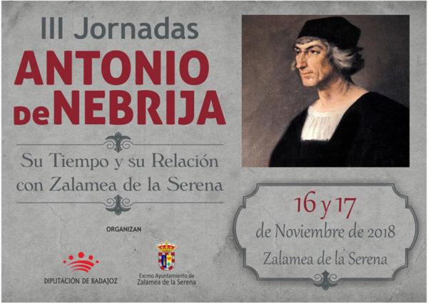 III Jornadas Antonio de Nebrja @ Centro Cultural Zalamea de la Serena | Zalamea de la Serena | Extremadura | España