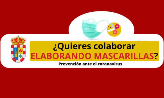¿Quieres colaborar ELABORANDO MASCARILLAS? Prevención ante el coronavirus