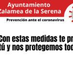 Prevención contra el Coronavirus, con estas medidas te proteges tú y nos protegemos todos