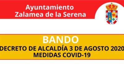 BANDO MUNICIPAL: INFORMACIÓN SOBRE EL CUMPLIMIENTO  DE NORMAS ESTABLECIDA  PARA PREVENIR EL COVID-19.