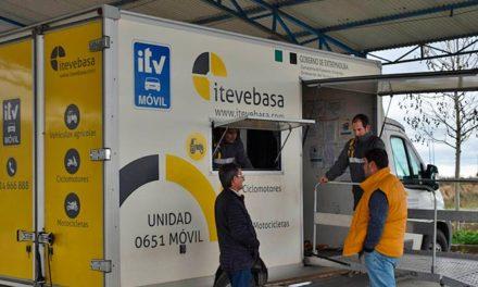 Estación ITV Móvil Ciclo-Agrícola en Zalamea de la Serena dias 16 y 17 septiembre 2020