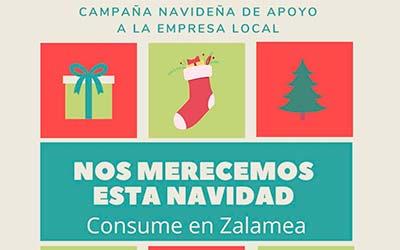 Campaña Navideña de Apoyo a la empresa local. Consume en Zalamea