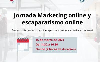 Marketing online y escaparatismo online – TICCámaras 16/03/2021 De 14:30h a 16:00h