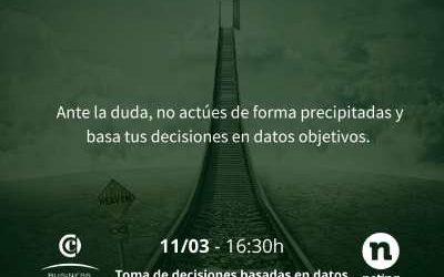CLUBINAR: Toma de decisiones basadas en datos. 11/03/2021 a las 16:30h