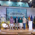 """Zalamea de la Serena presenta la campaña de promoción turística """"Zalamea, escenario de la historia"""" en FITUR 2021."""