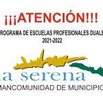 escuelas profesionales DUALES 2021/2022